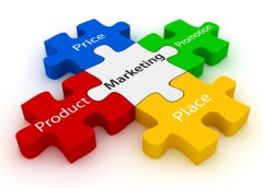Product, price, place, promotion