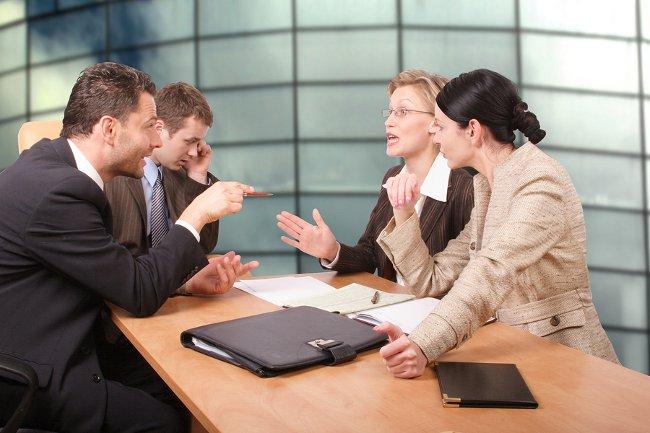 Стол переговоров
