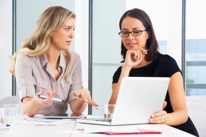 Обсуждение вопросов в офисе