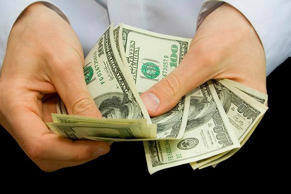 Получение зарплаты