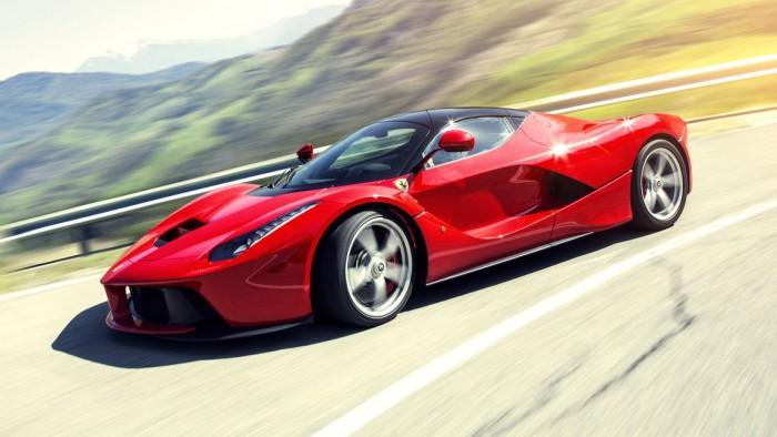 Позиционирование товара - Ferrari