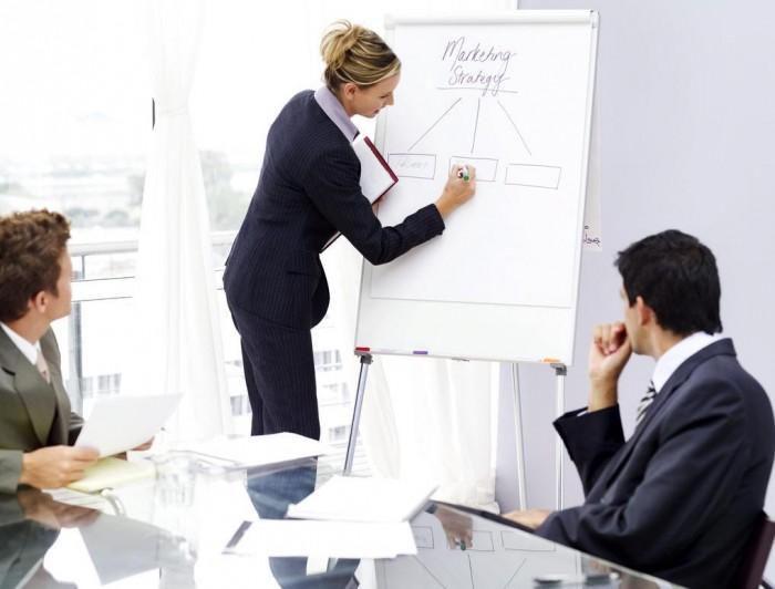 Обсуждение стратегий в маркетинге